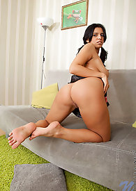 Elena Rae gets hot and wet as she masturbates with her sex toy